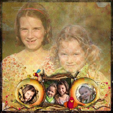 Hannah und Amelie im Maisfeld-klein